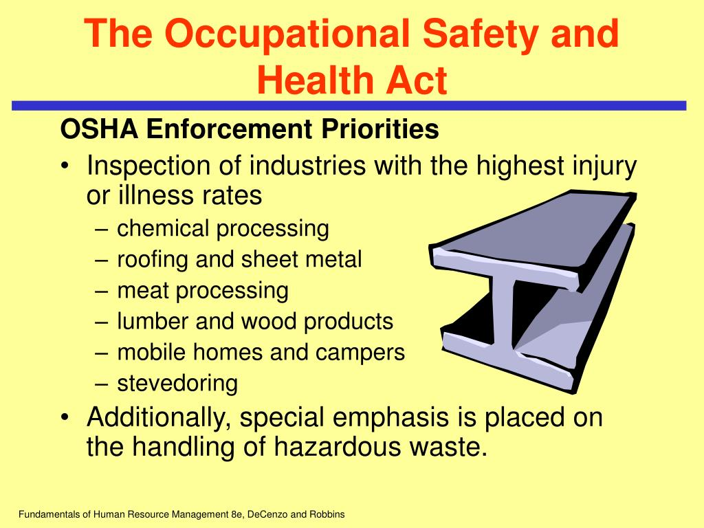 Ppt Chapter 13 Ensuring A Safe And Healthy Work