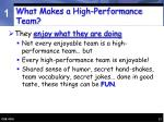 what makes a high performance team17