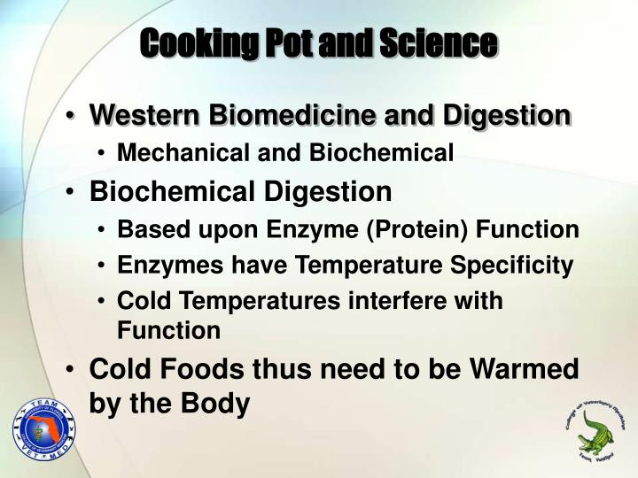 Cooking pot and science