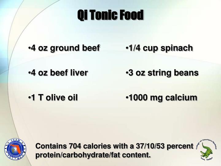4 oz ground beef