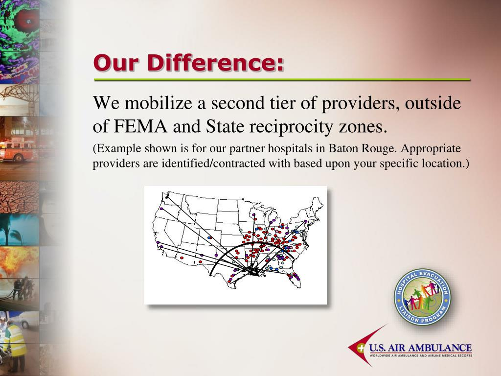 Our Difference: