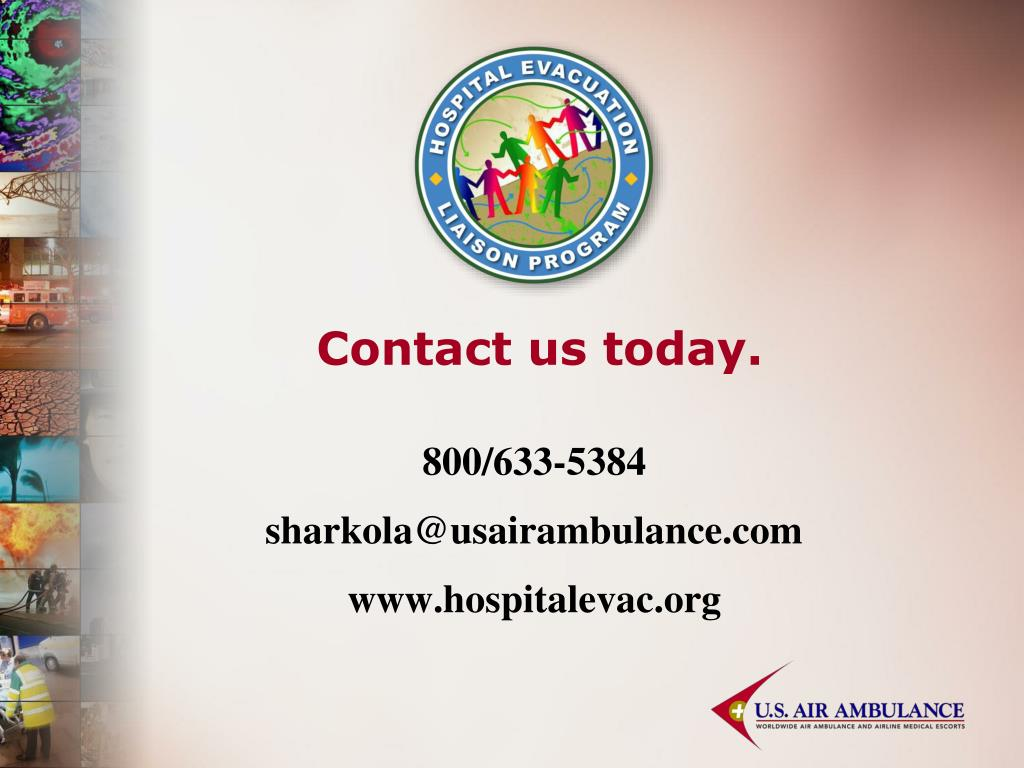 Contact us today.
