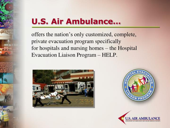 U s air ambulance