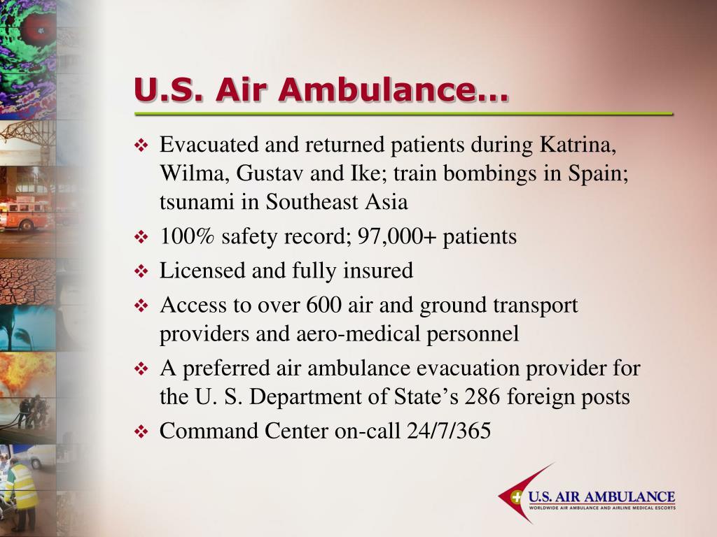 U.S. Air Ambulance…