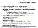 afms look ahead