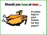 should you keep or toss7