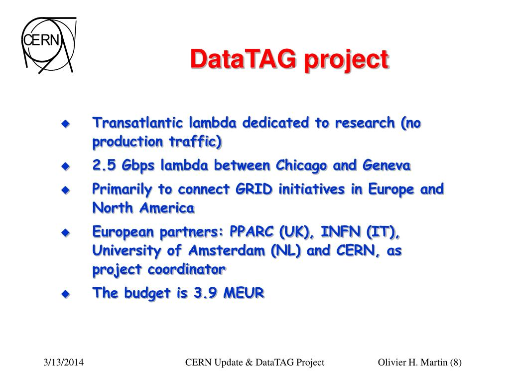 DataTAG project