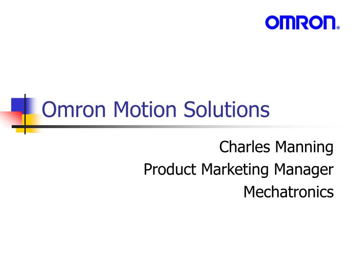 omron motion solutions n.