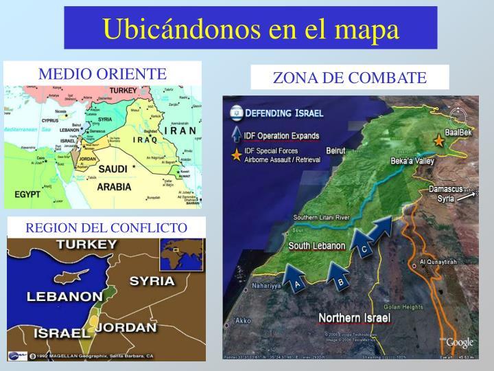 Ubic ndonos en el mapa