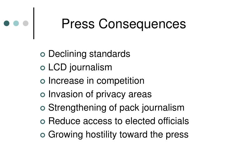 Press Consequences