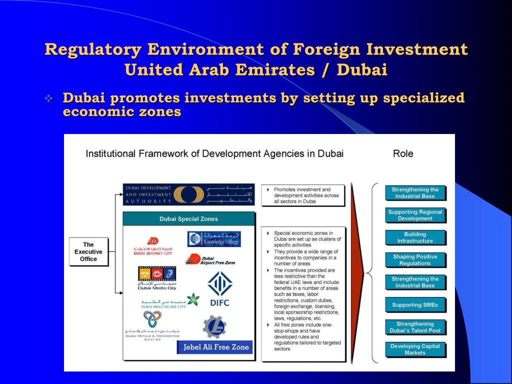 united arab emirates foreign investment regulations essay