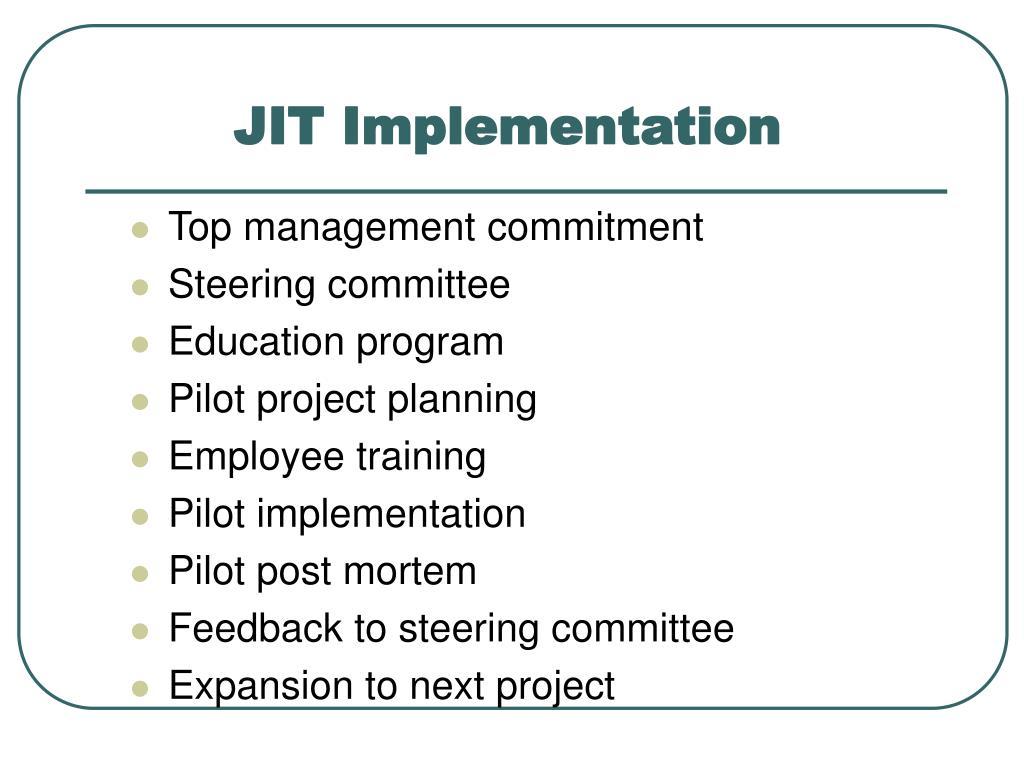 JIT Implementation
