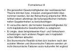 formalismus iii