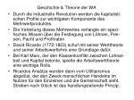 geschichte theorie der wa30