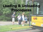 loading unloading procedures