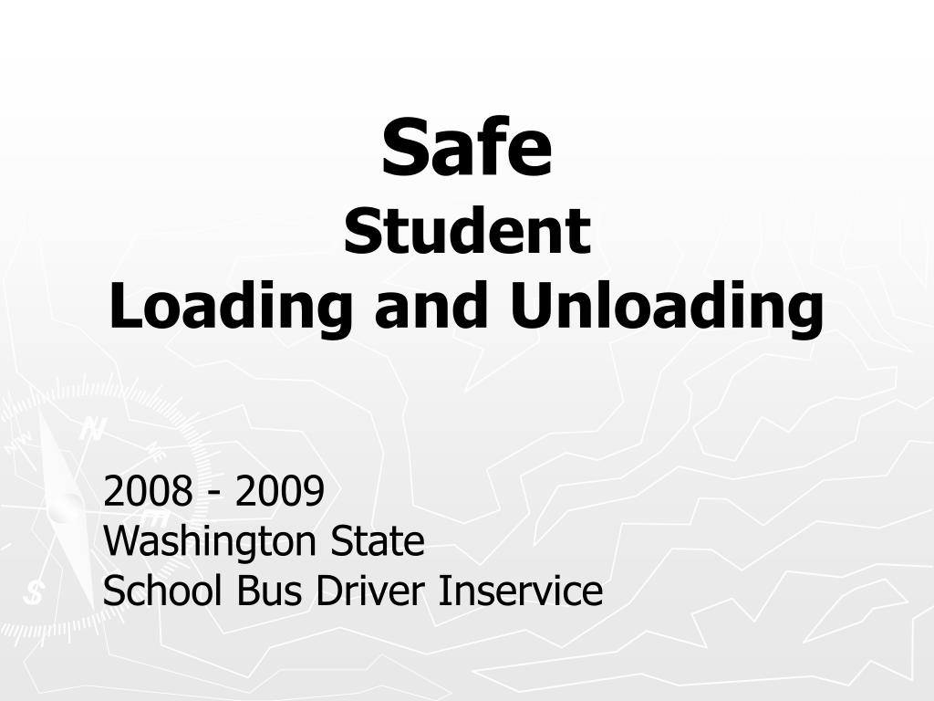 safe student loading and unloading l.