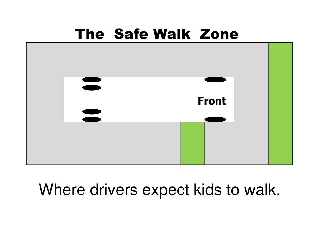 The  Safe Walk  Zone