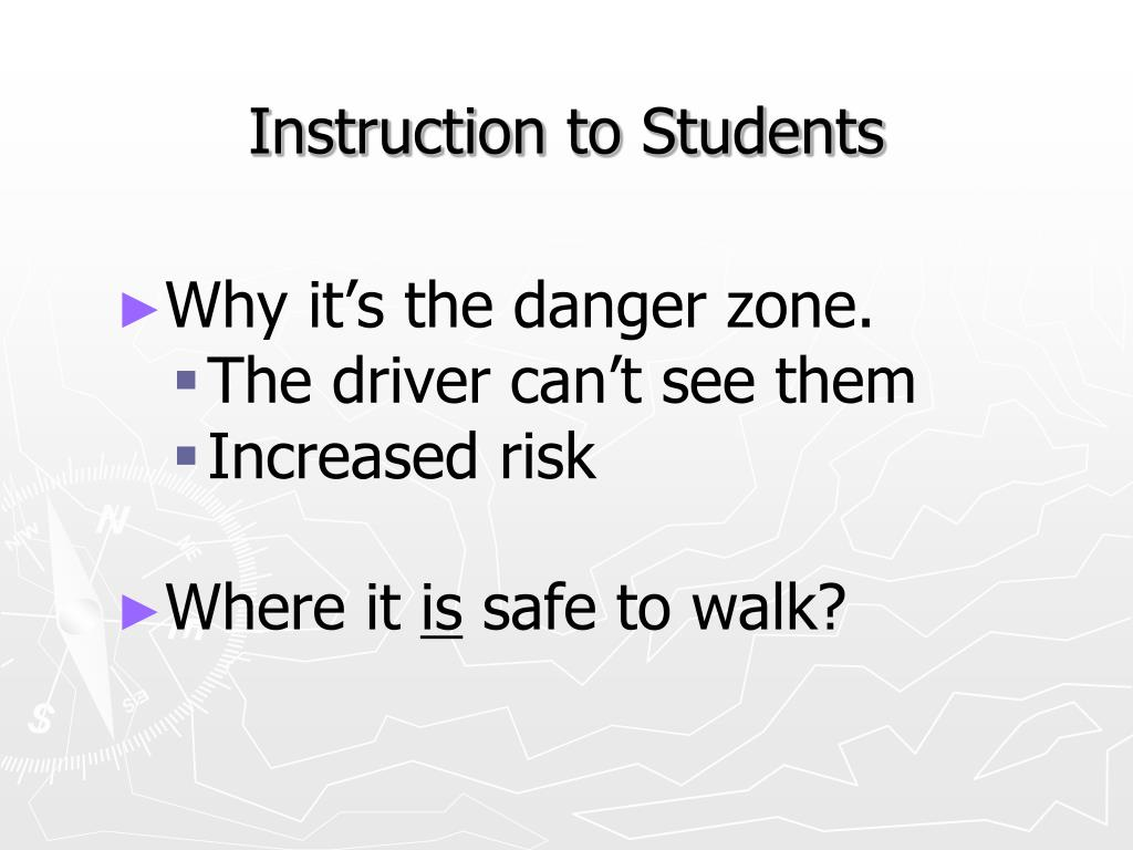 Why it's the danger zone.