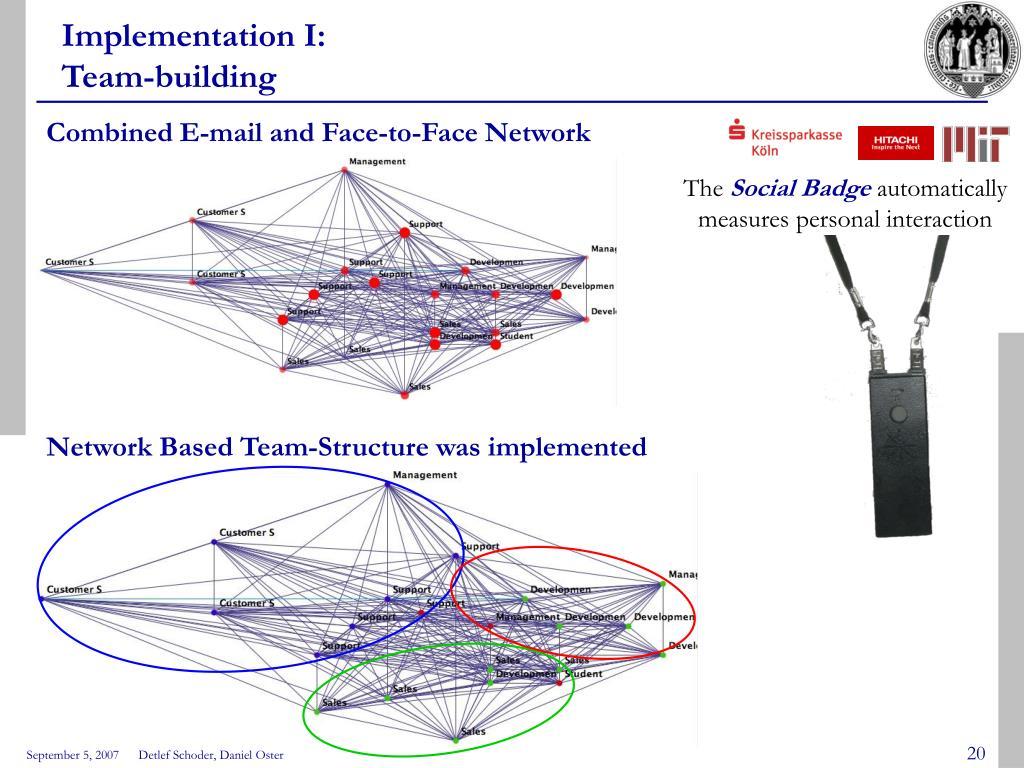 Implementation I: