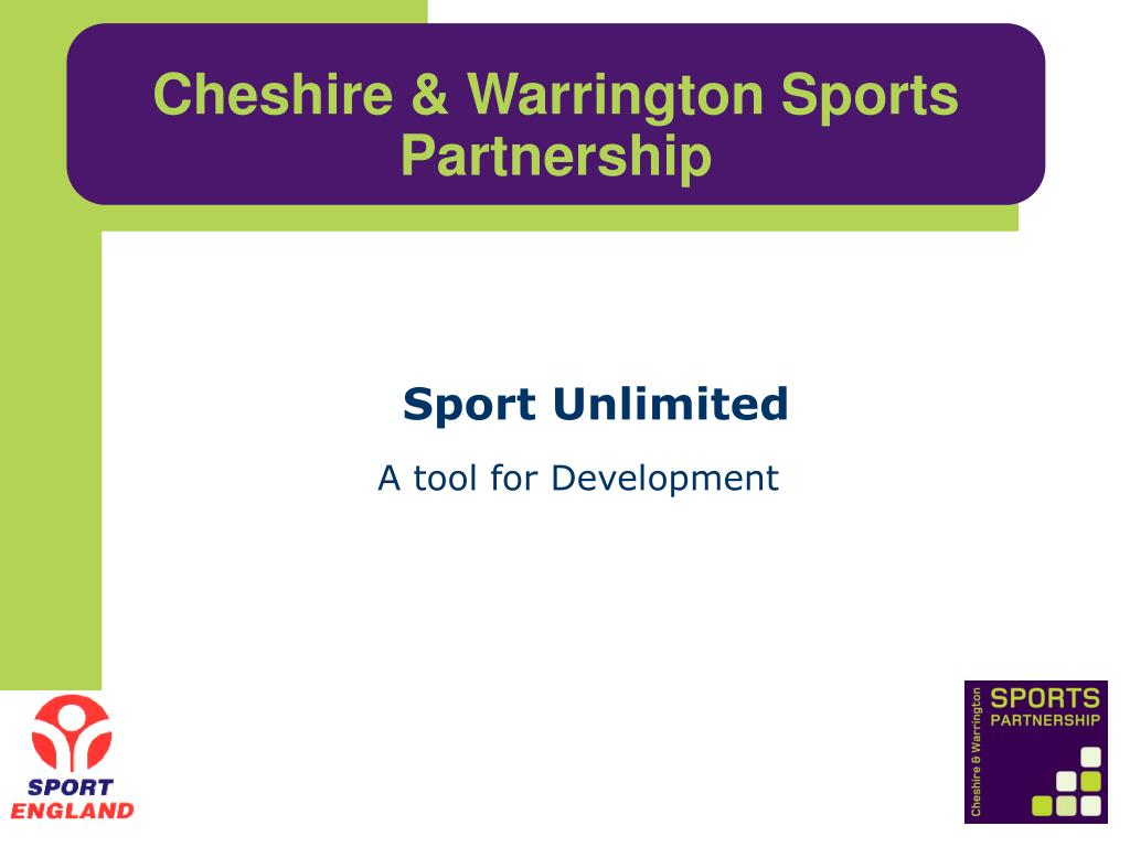cheshire warrington sports partnership l.