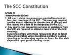 the scc constitution