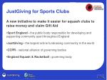 justgiving for sports clubs2
