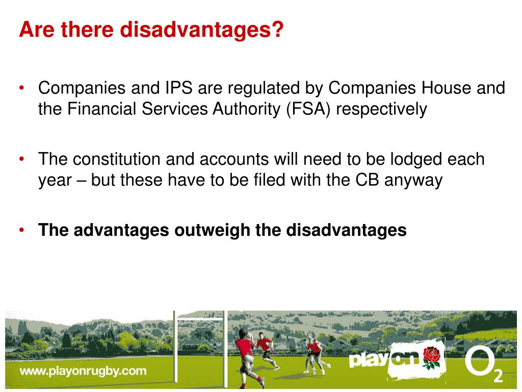 Are there disadvantages?