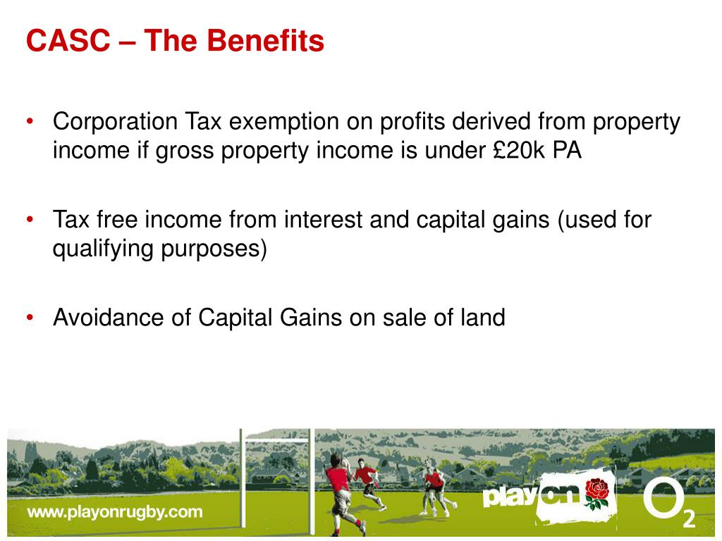 CASC – The Benefits