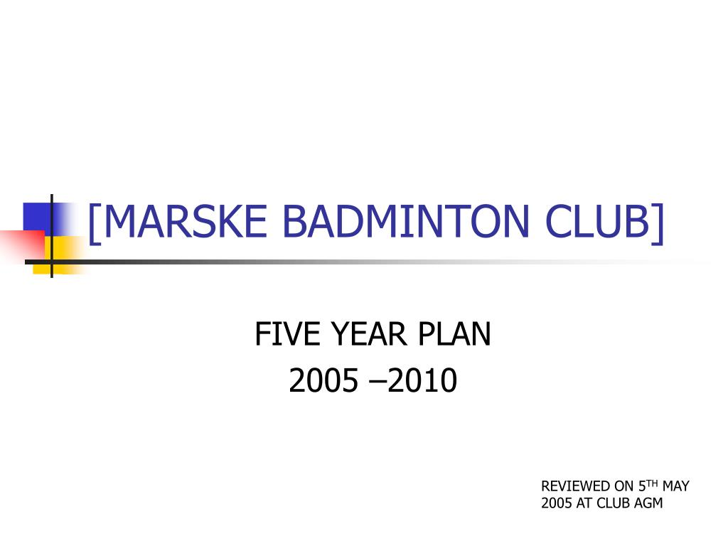marske badminton club l.