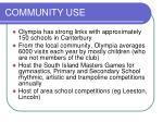 community use12