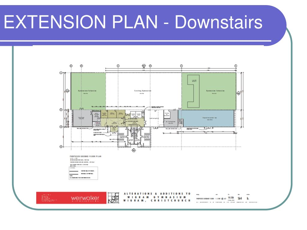 EXTENSION PLAN - Downstairs
