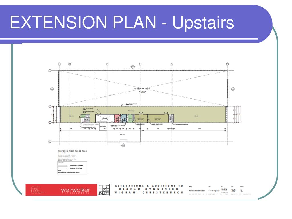 EXTENSION PLAN - Upstairs