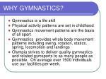 why gymnastics
