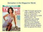 sensation in the magazine world3