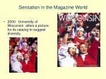 sensation in the magazine world4