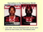 sensation in the magazine world5