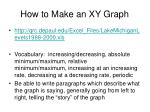 how to make an xy graph