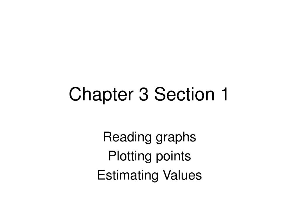 chapter 3 section 1 l.