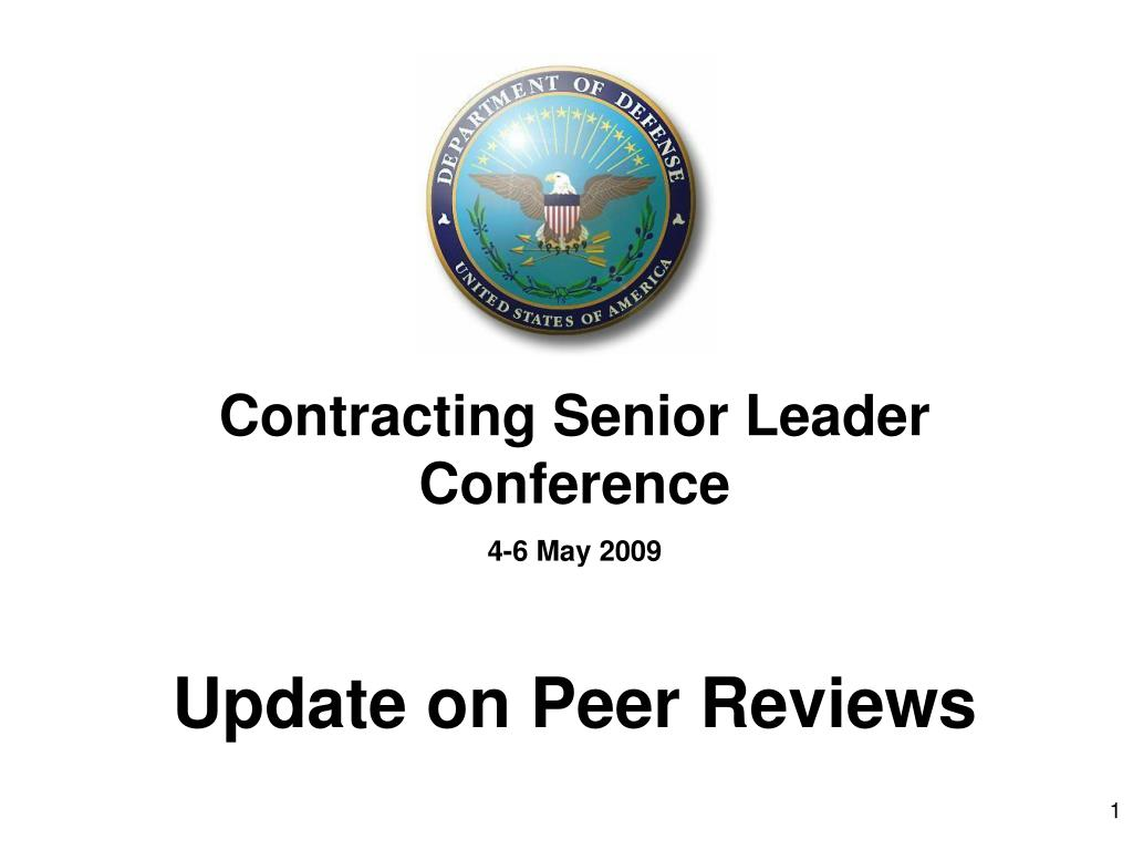 Contracting Senior Leader Conference