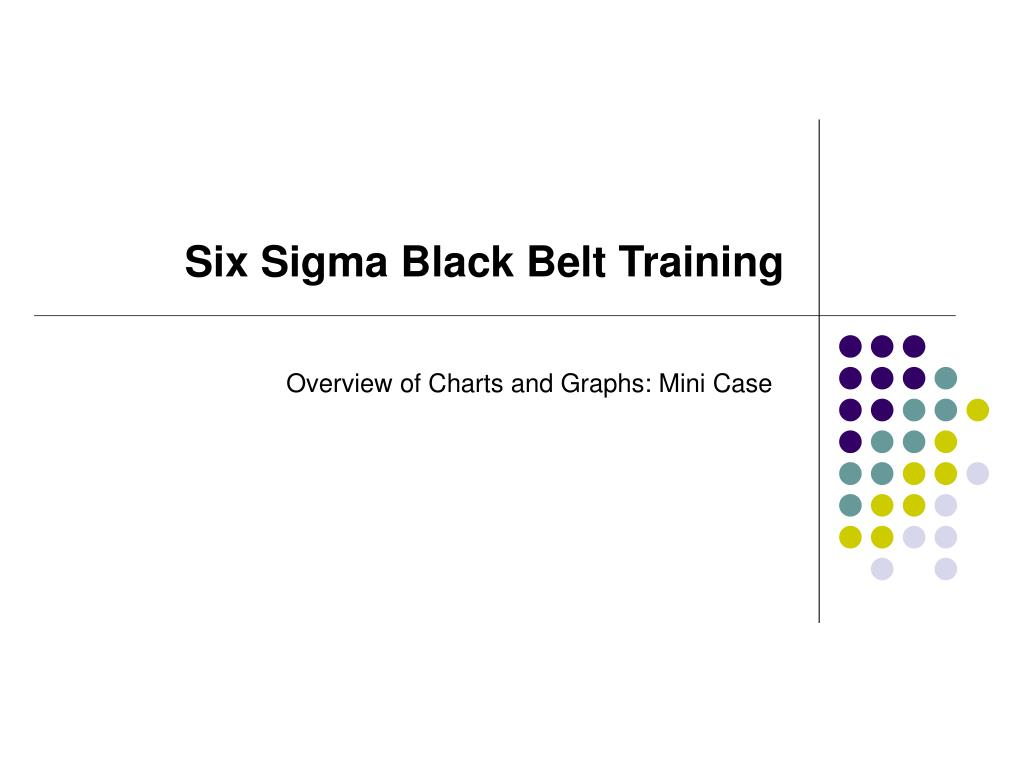 six sigma black belt training l.
