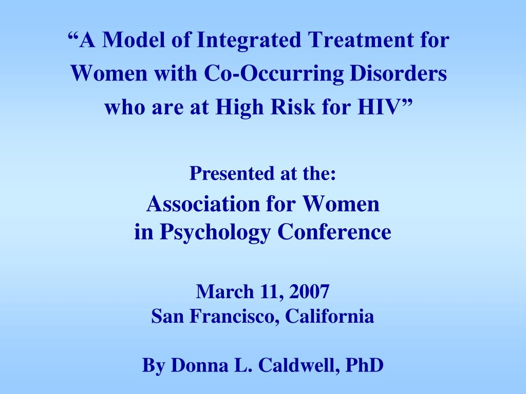 association for women in psychology conference l.