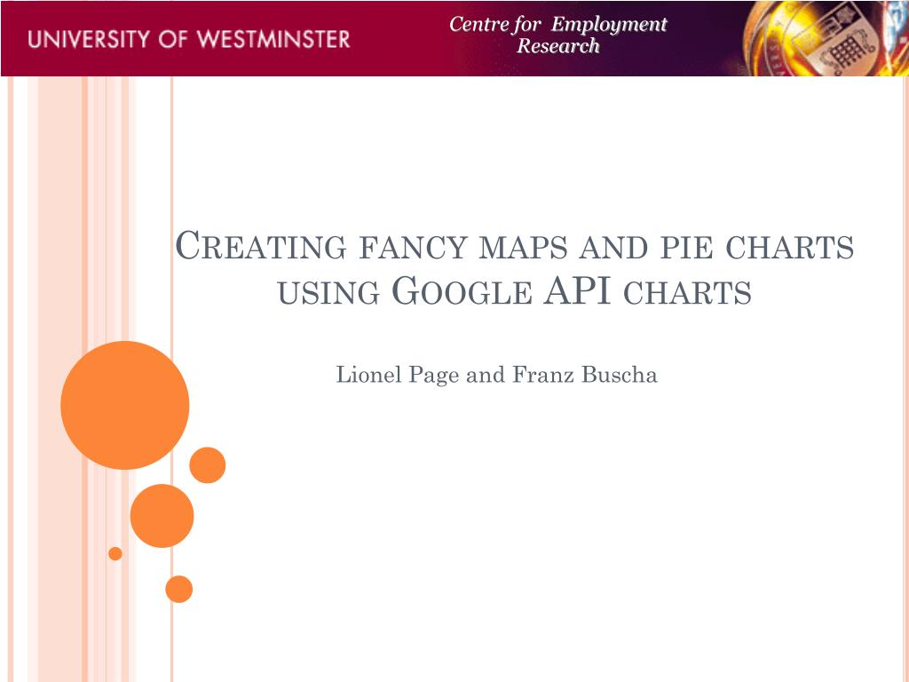 creating fancy maps and pie charts using google api charts l.