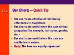 bar charts quick tip