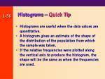 histograms quick tip
