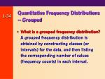 quantitative frequency distributions grouped
