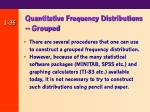 quantitative frequency distributions grouped35