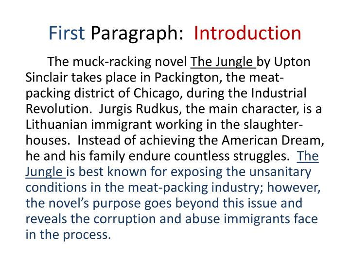 an analysis of lower industrial world in the jungle by upton sinclair The jungle [upton sinclair] on amazoncom free shipping on qualifying offers unabridged 85x11 student value production of the jungle, written by the pulitzer prize winning journalist upton sinclair (1878-1968.
