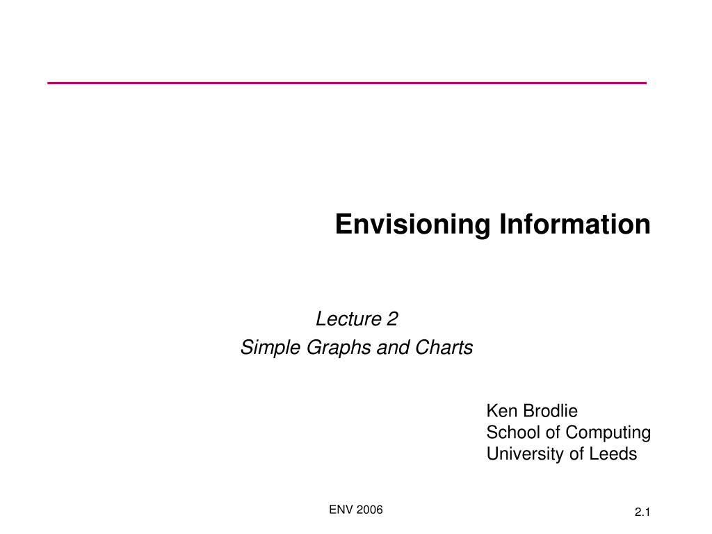 envisioning information l.