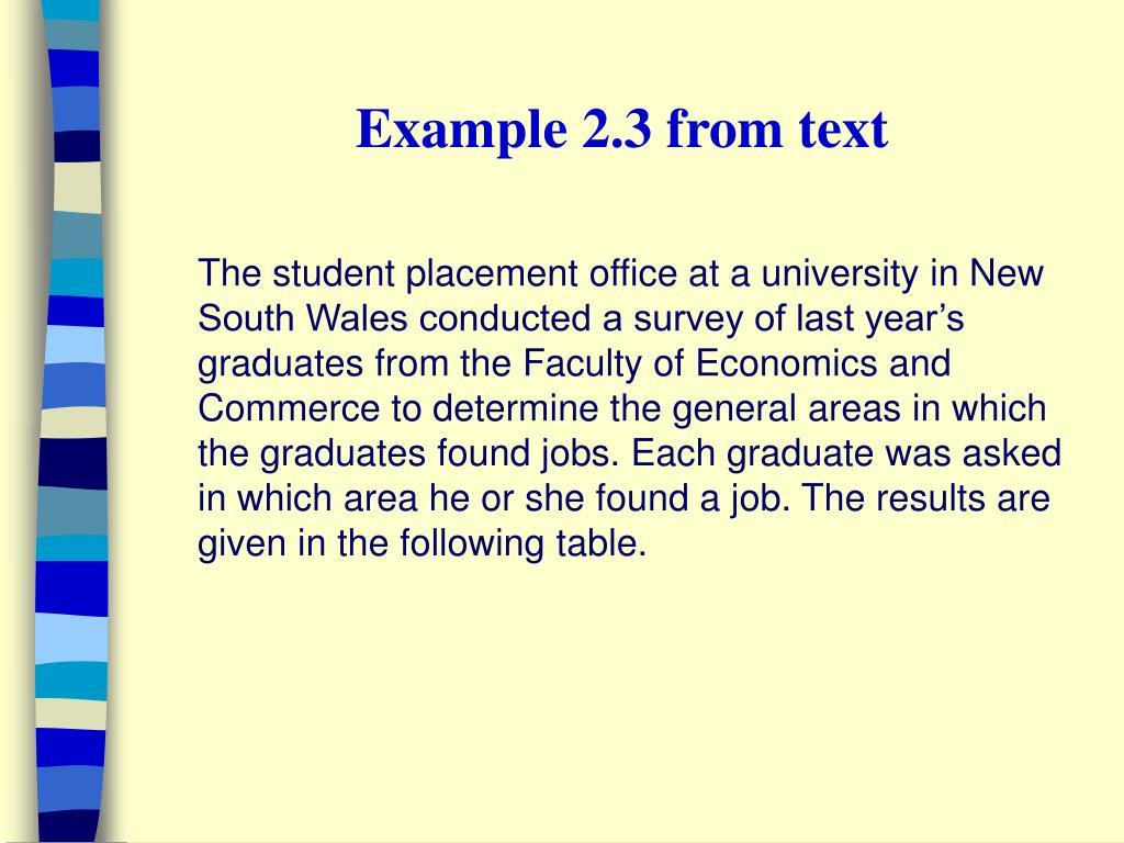 Example 2.3 from text