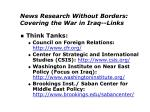 news research without borders covering the war in iraq links5